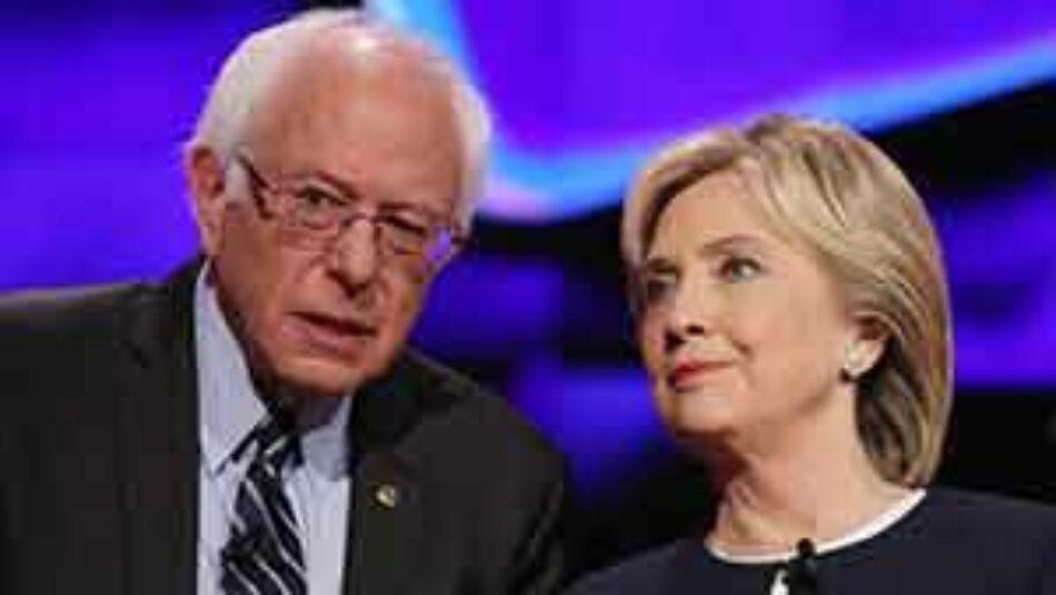 Clinton enfrenta un fuerte reto tras endoso de Sanders