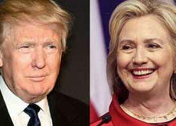 Cartel listo: Clinton y Kaine contra Trump y Pence por la Casa Blanca