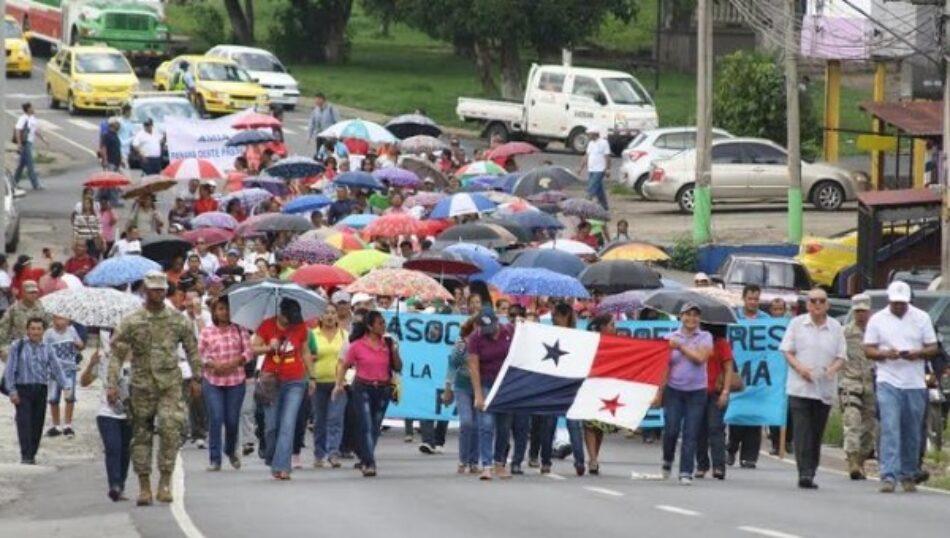 Crece respaldo a huelga de maestros panameños