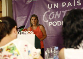 Begoña Gutiérrez: En Podemos lo tenemos claro, con la salud de nuestros hijos e hijas no se juega