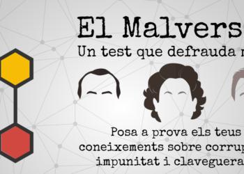 La CUP estrena un joc online: «El malversat', un test que defrauda molt»