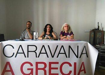 La 'Caravana a Grecia' exige al Gobierno de España y a la UE que cumplan los derechos humanos de las personas refugiadas