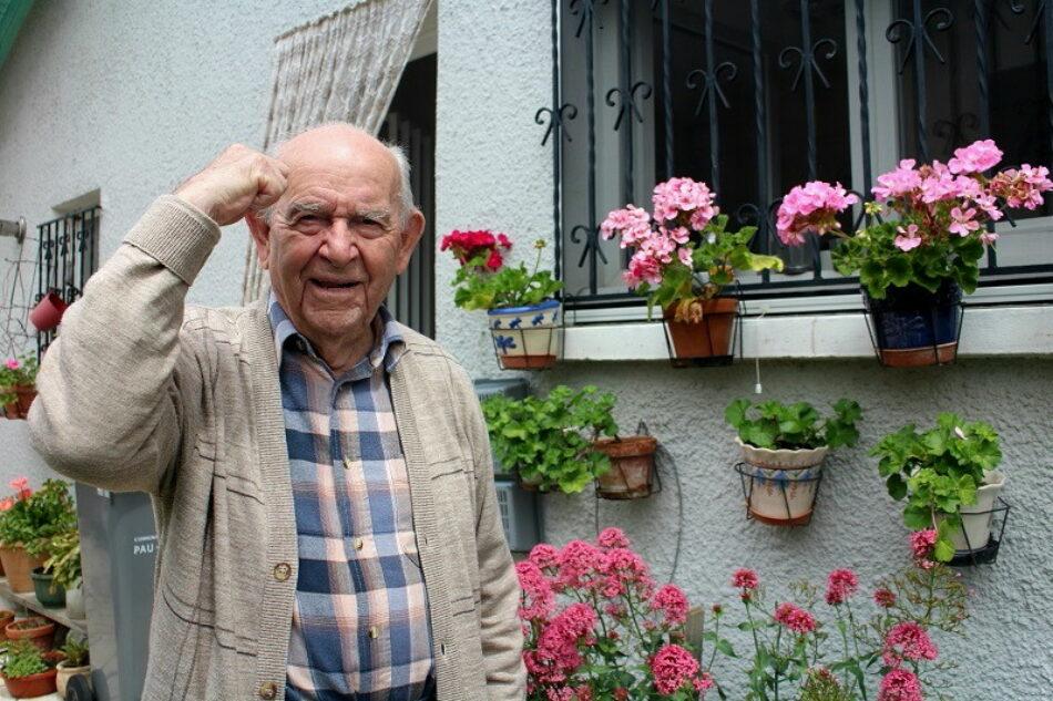 Muere en Francia Virgilio Peña, el miliciano que jamás quiso abandonar la primera línea de fuego