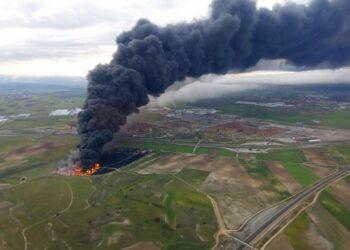Presentación de los primeros resultados sobre la exposición a la contaminación en el incendio de Seseña