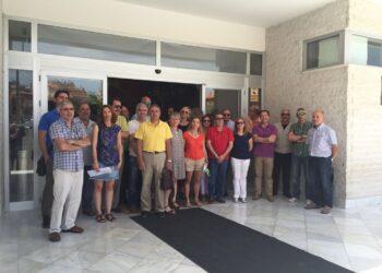 Los trabajadores de Canal Sur en Granada denuncian un ERE encubierto en la empresa y piden el cese de los recortes de personal