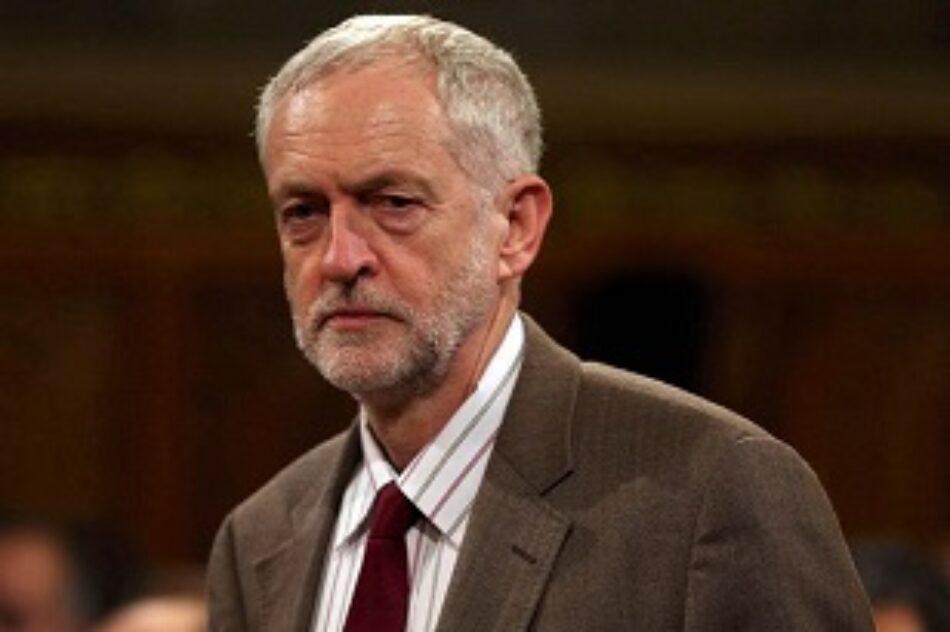 Jeremy Corbyn compara al gobierno israelí con el EI