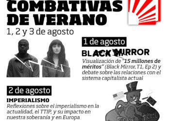 Jornadas combativas de verano en Vitoria-Gasteiz organizadas por la  Gazte Komunistak