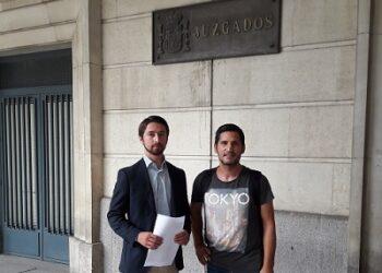 600 euros de fianza aun activista sin techo por defender derechos