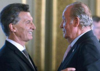 Amplias críticas a Macri por sus declaraciones ante Juan Carlos de Borbón