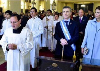 Argentina: Imágenes elocuentes de un festejo al estilo Macri