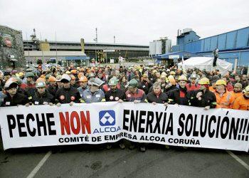 En Marea apoiará as mobilizacións do persoal de Alcoa do próximo martes