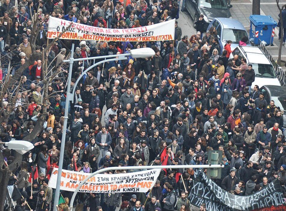 María Kadoglou: «El proyecto minero de Skouries no traerá ningún beneficio para Grecia»
