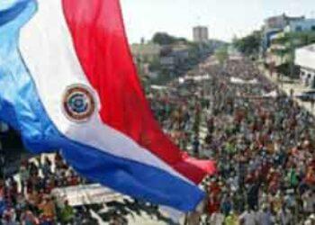 Movilización en repudio a condenas de campesinos paraguayos