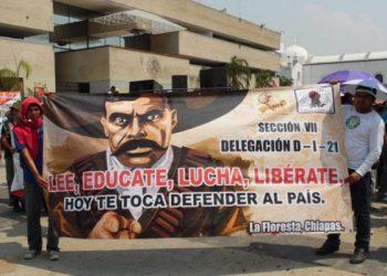 México. CNTE: 50 días bajo el sol, lluvia y represión