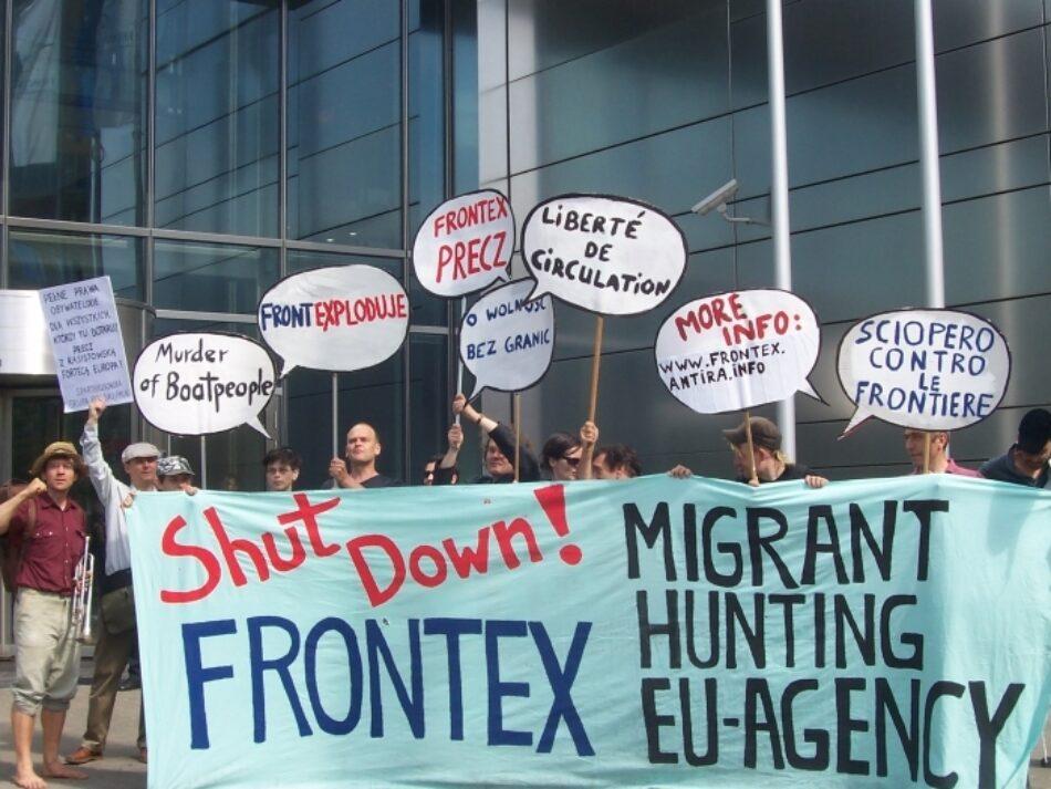 """IU acusa a la UE de """"abanderar las políticas xenófobas de la ultraderecha"""" con el nuevo Frontex"""