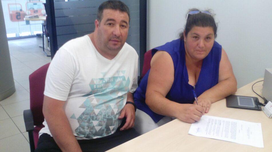 Una familia de Stop Desahucios consigue un acuerdo con Cajasur