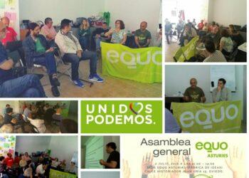 EQUO Asturias valora como positivo el resultado electoral y se marca como objetivo reforzar una alternativa de cambio