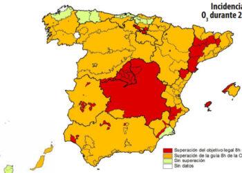 Queja contra el Estado español por no adoptar planes de ozono en las zonas más afectadas