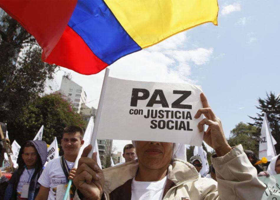Colombia: Paz con justicia social. Que el diablo y la oligarquía colombiana se vuelvan buenos!
