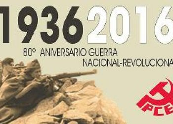 Declaración política del PCE ante el 80 aniversario del inicio de la Guerra Civil
