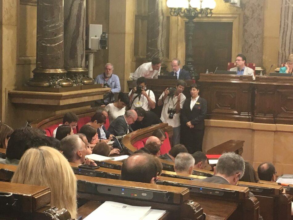 La CUP-CC demana a CSQP que voti a favor d'incloure les conclusions de Procés Constituent en l'ordre del dia del ple