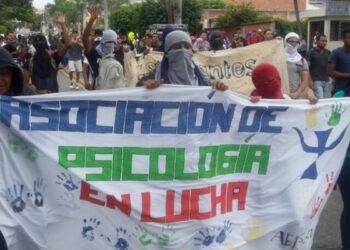 Varios estudiantes detenidos en el desalojo de la UNAH en Honduras