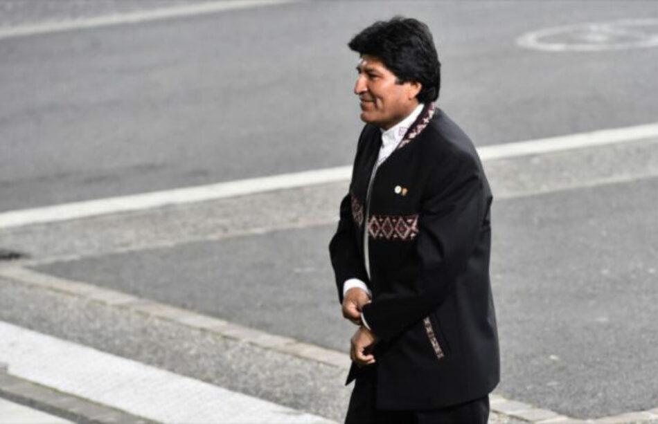 Bolivia. Morales: La libertad capitalista es la venta libre de armas