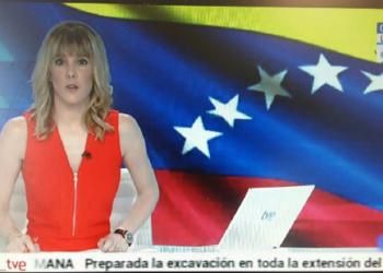 Televisión Española se disculpa con Venezuela y  corrige difusión del tricolor patrio