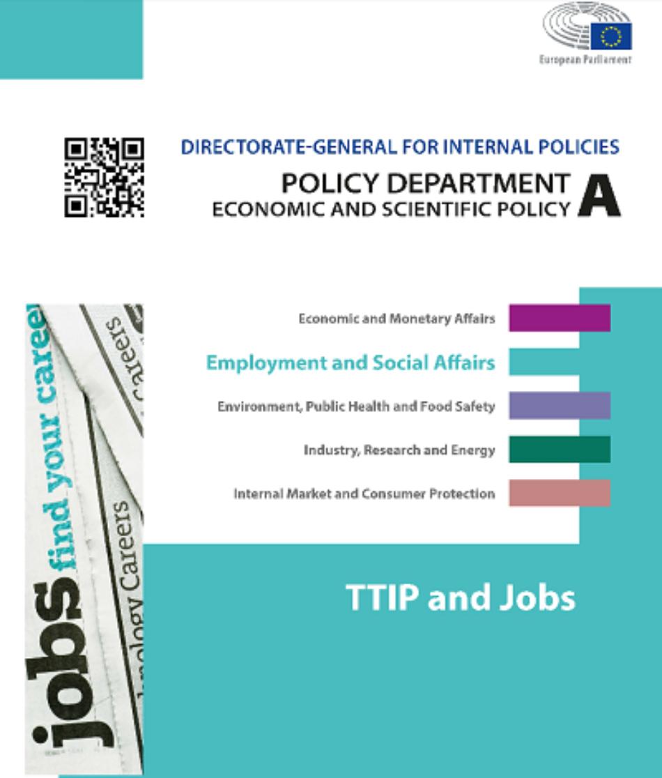 IU urge a la CE a suspender las negociaciones del TTIP por los informes que alertan del peligro para el empleo