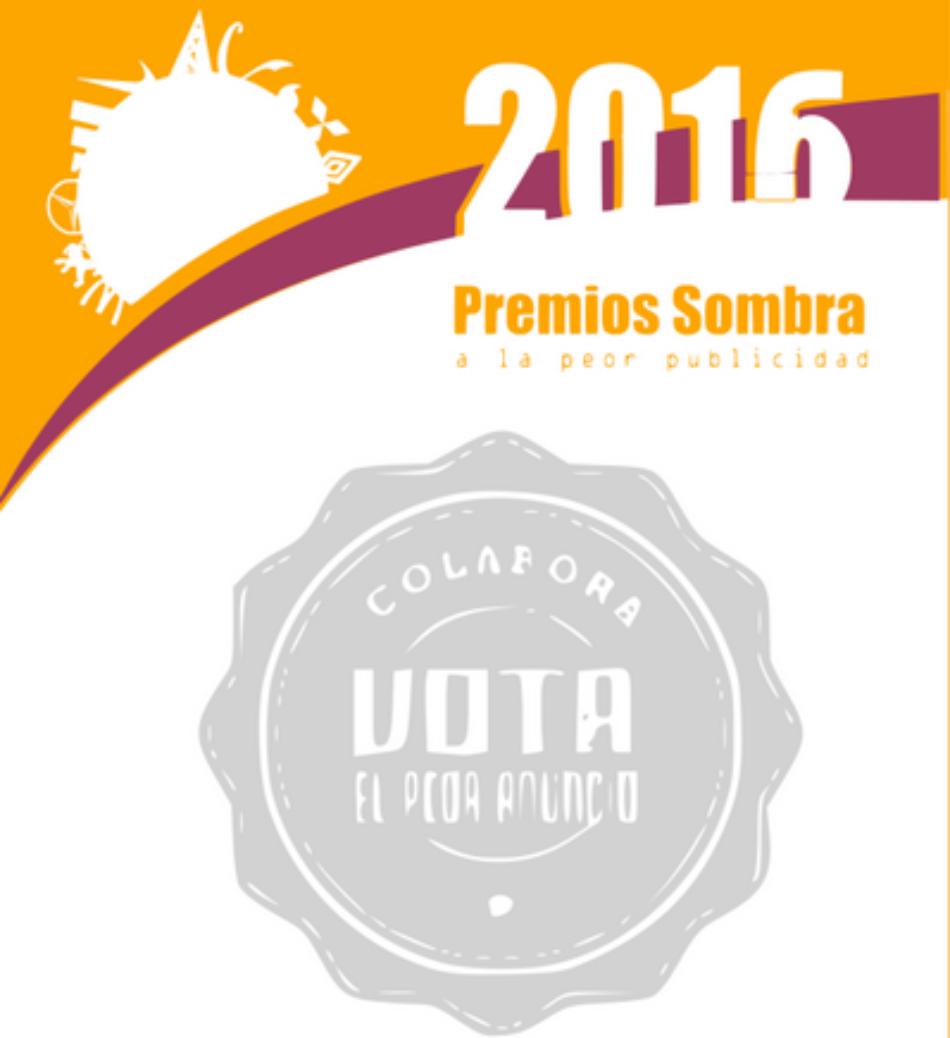 Bankia y Nestlé ganan los Premios Sombra 2016 a la peor publicidad
