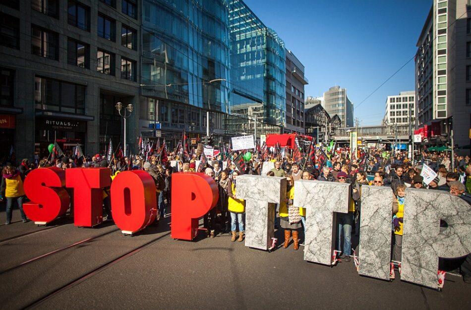 AGE insta ao Parlamento galego a posicionarse contra o TTIP