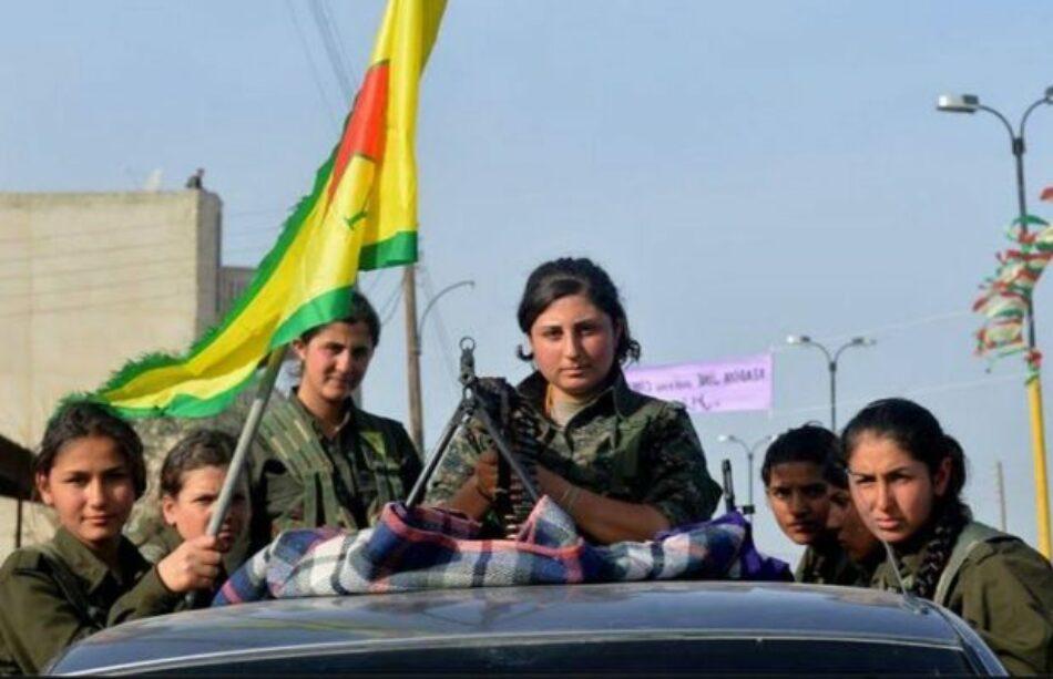 Kurdistán: entrevista a una de las militantes de las Unidades de Protección Popular (YPJ) y las Unidades de Protección Femeninas (YPG)