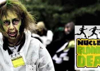 Greenpeace organiza cinco carreras populares de temática zombi en el entorno de las centrales nucleares españolas