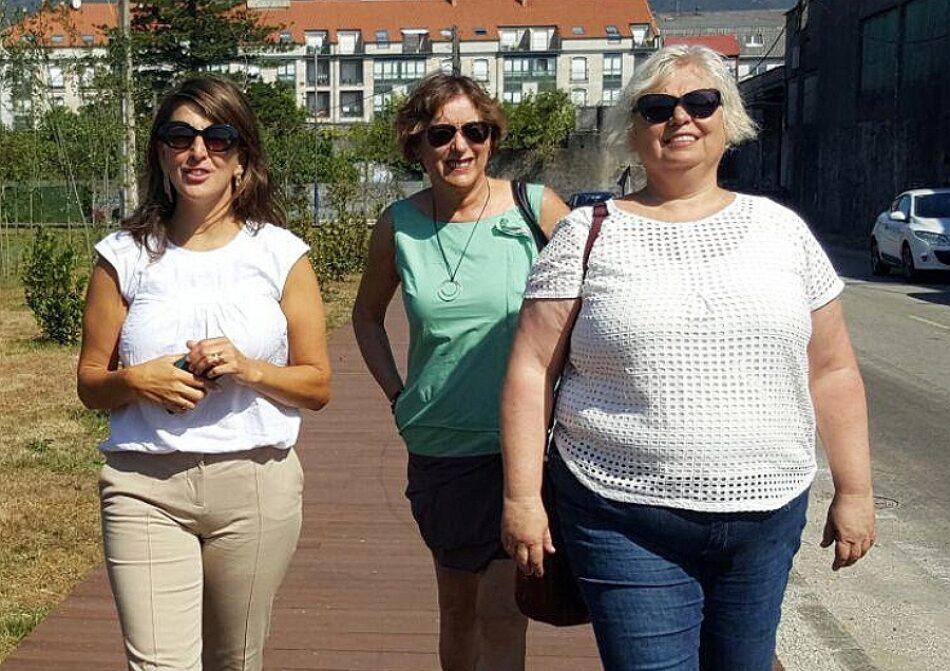 En Marea solicitará ao Goberno central  a recuperación do litoral na Pobra do Caramiñal