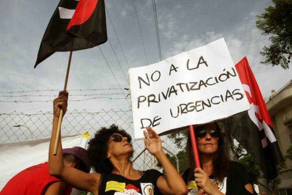 Podemos recuerda a Susana Díaz que el Parlamento aprobó la recuperación del servicio 061