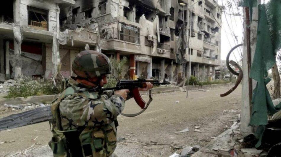 Ejército sirio estrecha cerco a terrorista en sur de Alepo