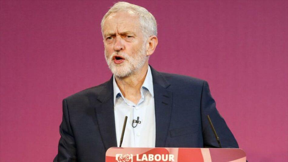El líder del Partido Laborista (PL), Jeremy Corbyn, pide el fin de la OTAN