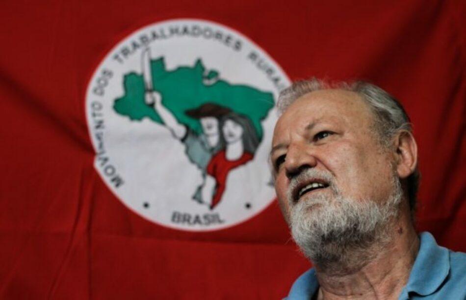 Brasil: Entrevista a Joao Pedro Stedile: «Un golpe de Estado para robar los recursos»