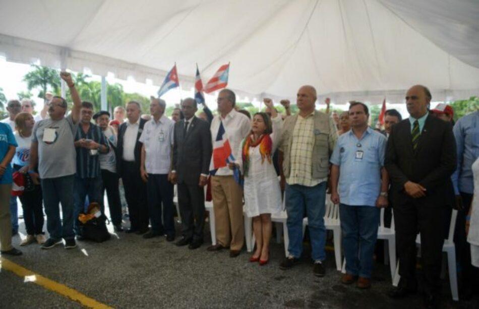 Finalizó en Santo Domingo el VIII Encuentro Continental de Solidaridad con Cuba