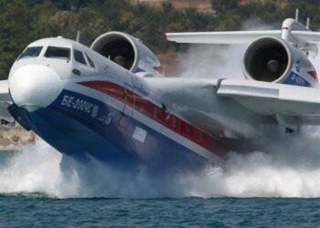 Rusia envía dos aviones pesados Beriev a Portugal para ayudar a combatir los incendios