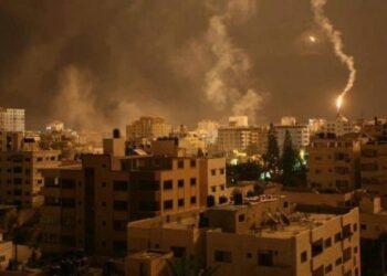 Ejército israelí bombardeó el norte de la Franja de Gaza