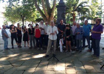 Manuel Lago apela á forza da esquerda para derrotar ao PP na presentación da candidatura «Marea do pobo» ás primarias de En Marea de A Coruña