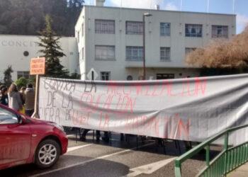 Chile: Estudiantes de la UdeC marchan exigiendo democracia y transparencia