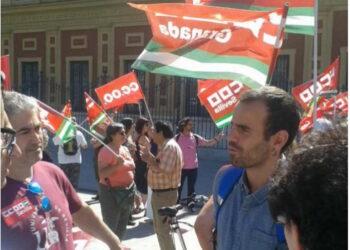 Miguel Ángel Bustamante, diputado de UP por Sevilla, pregunta al Congreso sobre los paraísos fiscales