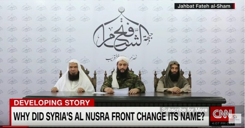 Siria: CNN inicia una campaña de blanqueo de imagen para los terroristas