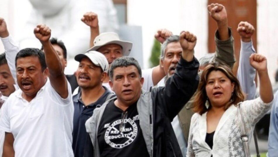 Ciudad de México será sede de megamarcha contra la reforma educativa