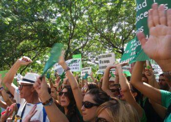 IU Andalucía apoya las movilizaciones contra la pérdida de plazas de profesorado de Infantil y Primaria