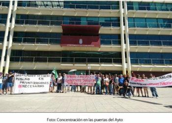 El PSOE de Fuenlabrada privatiza el servicio de recogida de residuos de polígonos