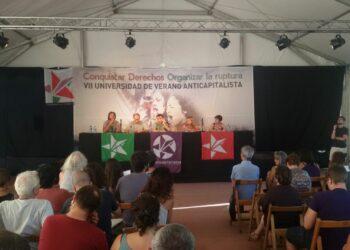 El griego Lapavitsas defiende la salida del euro en la Universidad de Verano Anticapitalista
