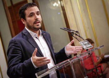 """Garzón valora que Rajoy ha usado su discurso """"más para presionar al PSOE mediante la extorsión y el chantaje que para buscar nuevos apoyos"""""""
